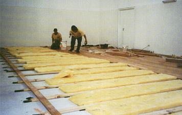 Colocaci n de pisos de madera pulido y plastificado - Colocacion de parquet de madera ...